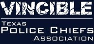 Vincible Texas Police Chiefs White Logo